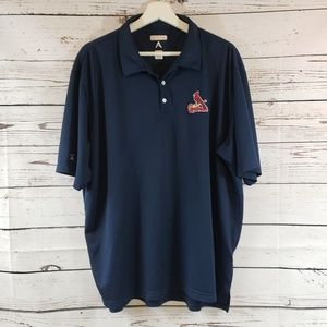 Antigua Cardinals Dry Fit Performance Polo